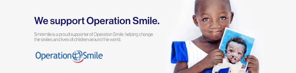 smile operation banner
